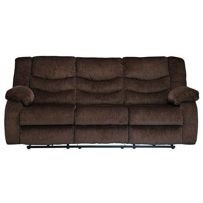 Garek Cocoa Reclining Sofa By Signature Design By Ashley
