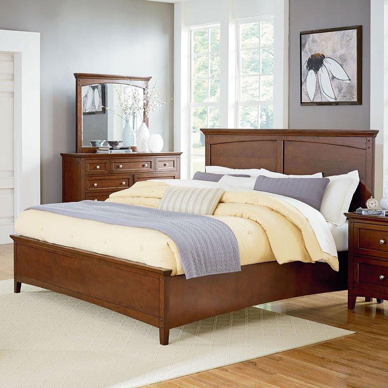 cooperstown panel bedroom set by standard furniture furniturepick. Black Bedroom Furniture Sets. Home Design Ideas