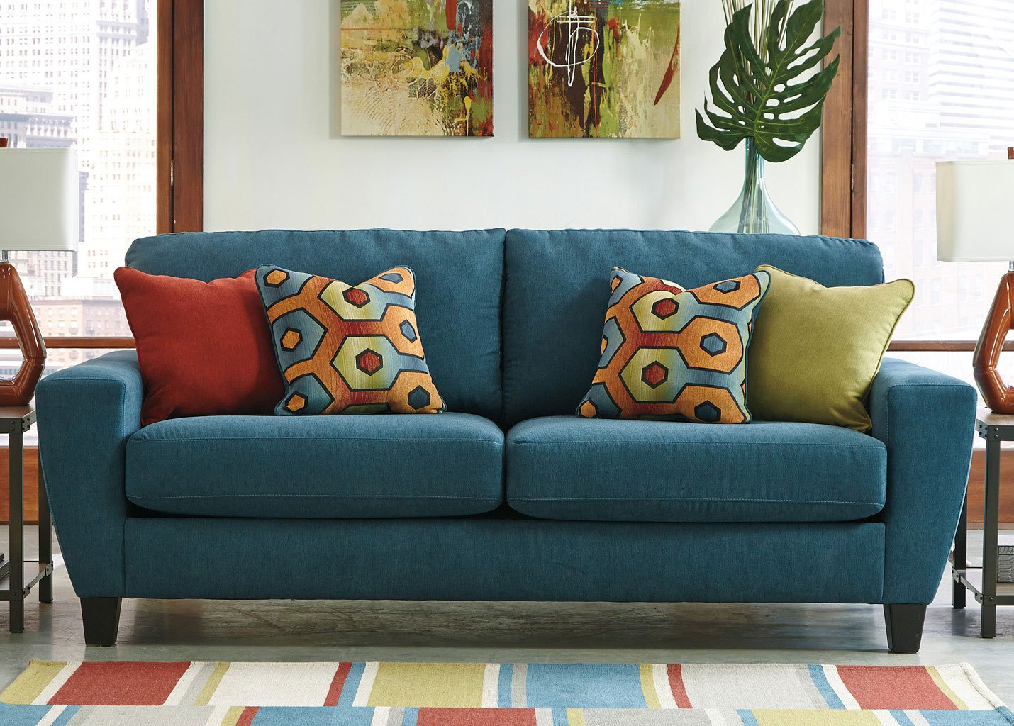 Sagen Teal Sofa Sofas Living Room Furniture Living Room