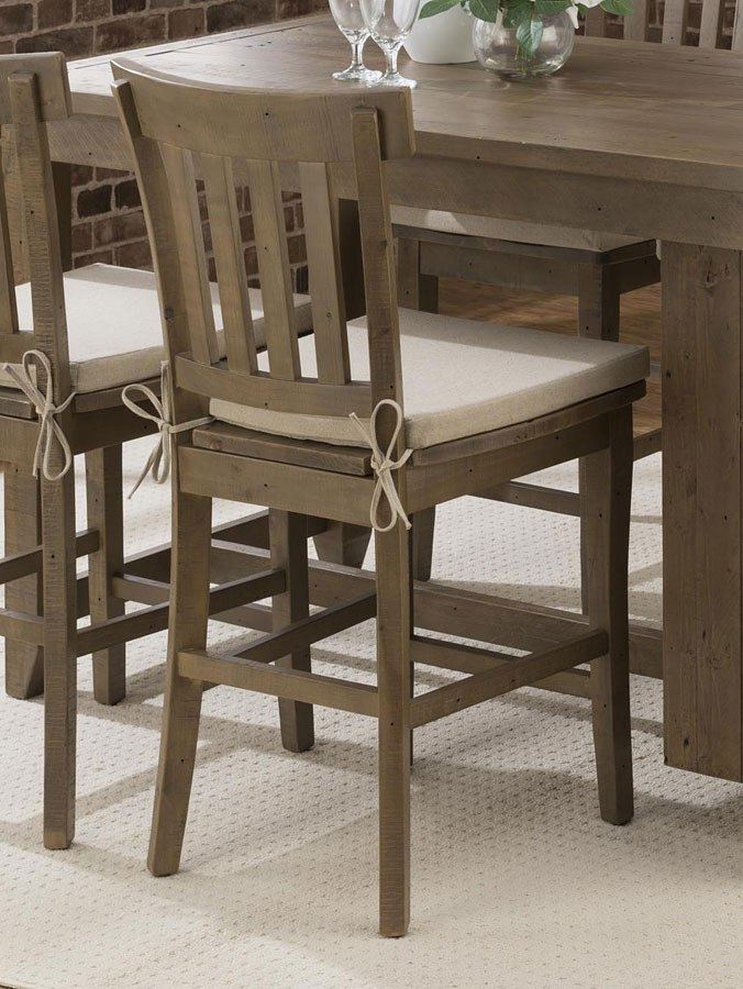 Slater Mill Storage Counter Height Dining Room Set By