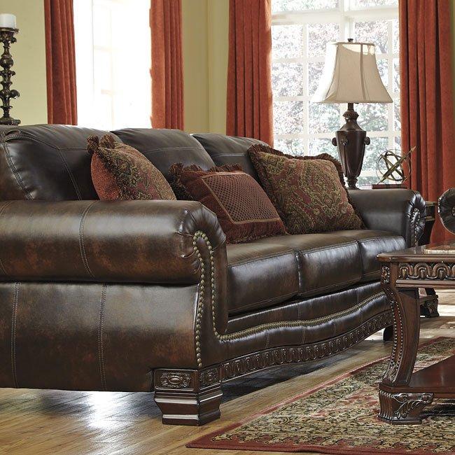 Ledelle Durablend Antique Sofa By Signature Design By