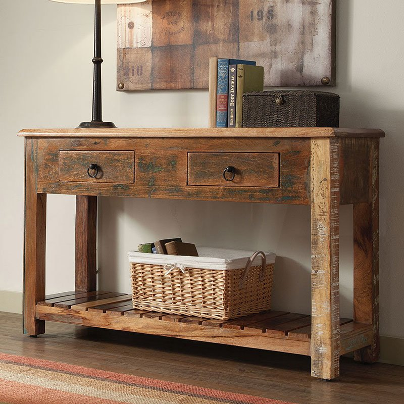 Super Reclaimed Wood Rustic Console Table Ibusinesslaw Wood Chair Design Ideas Ibusinesslaworg