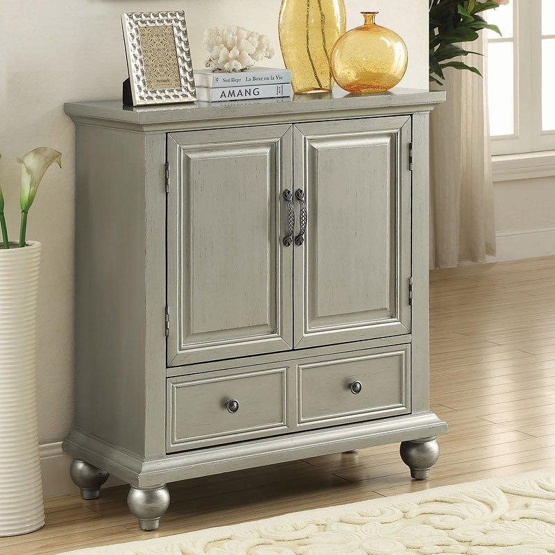 Glamorous Silver Accent Cabinet Accent Chests And Cabinets Occasional And Accent Furniture