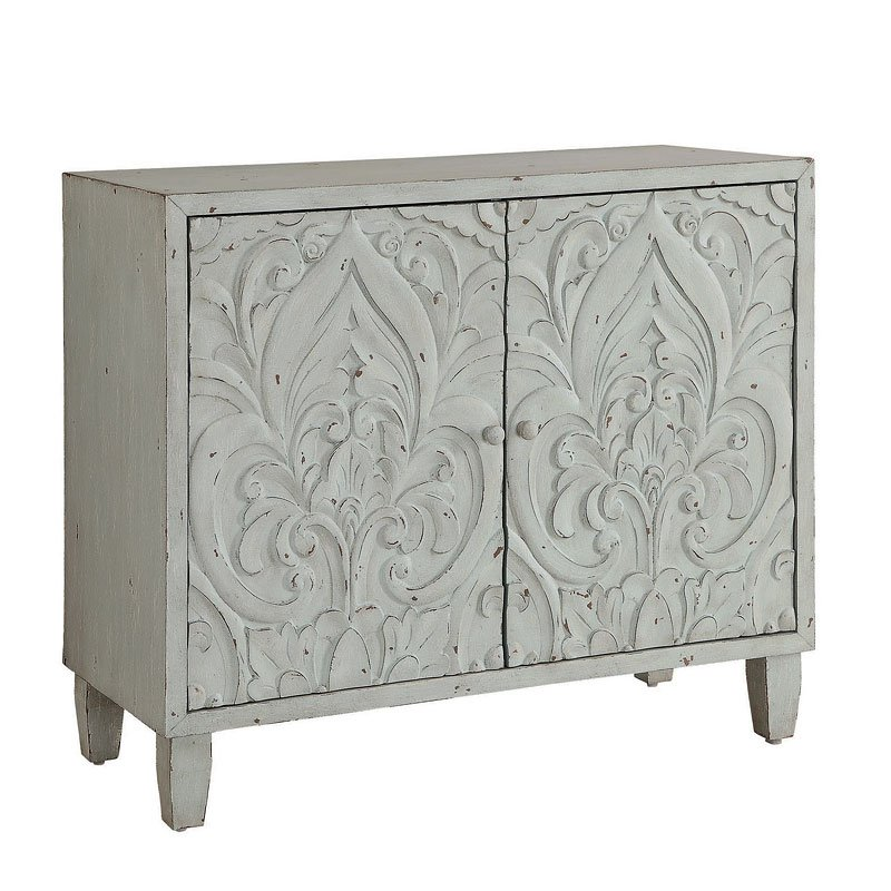 Shabby Chic Accent Cabinet By Coaster Furniture