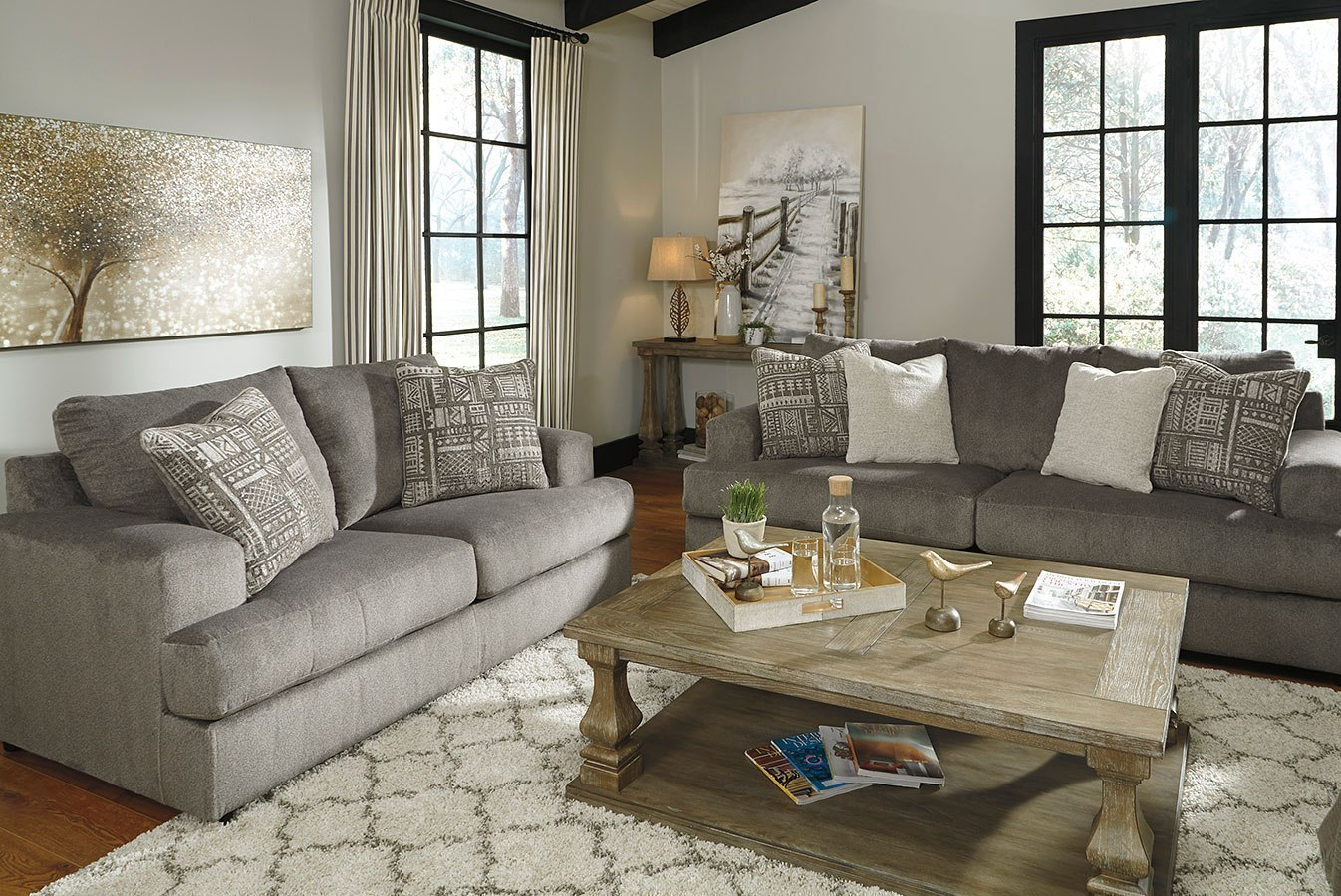 Soletren Ash Living Room Set By Signature Design By Ashley