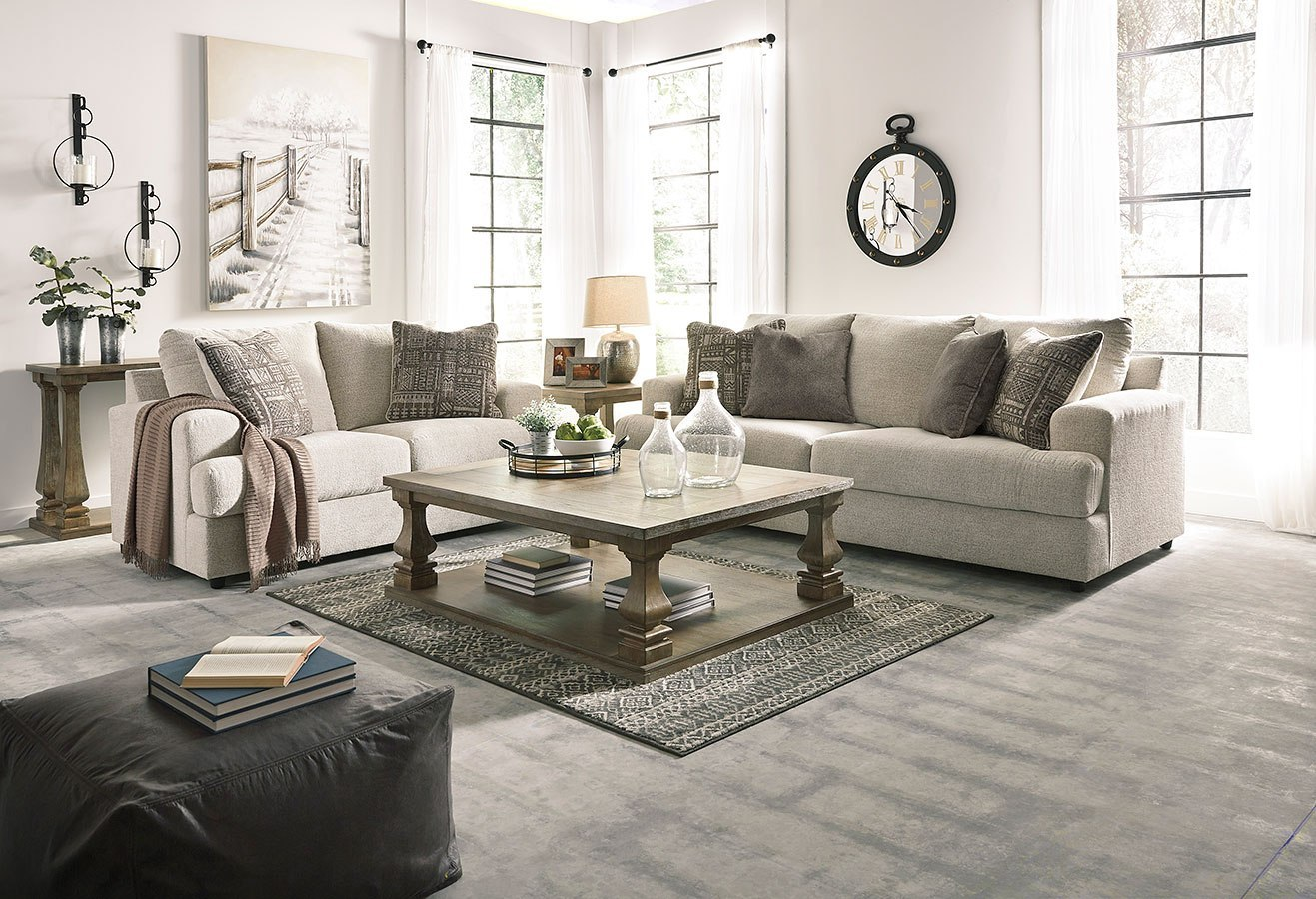 Soletren Stone Living Room Set By Signature Design By