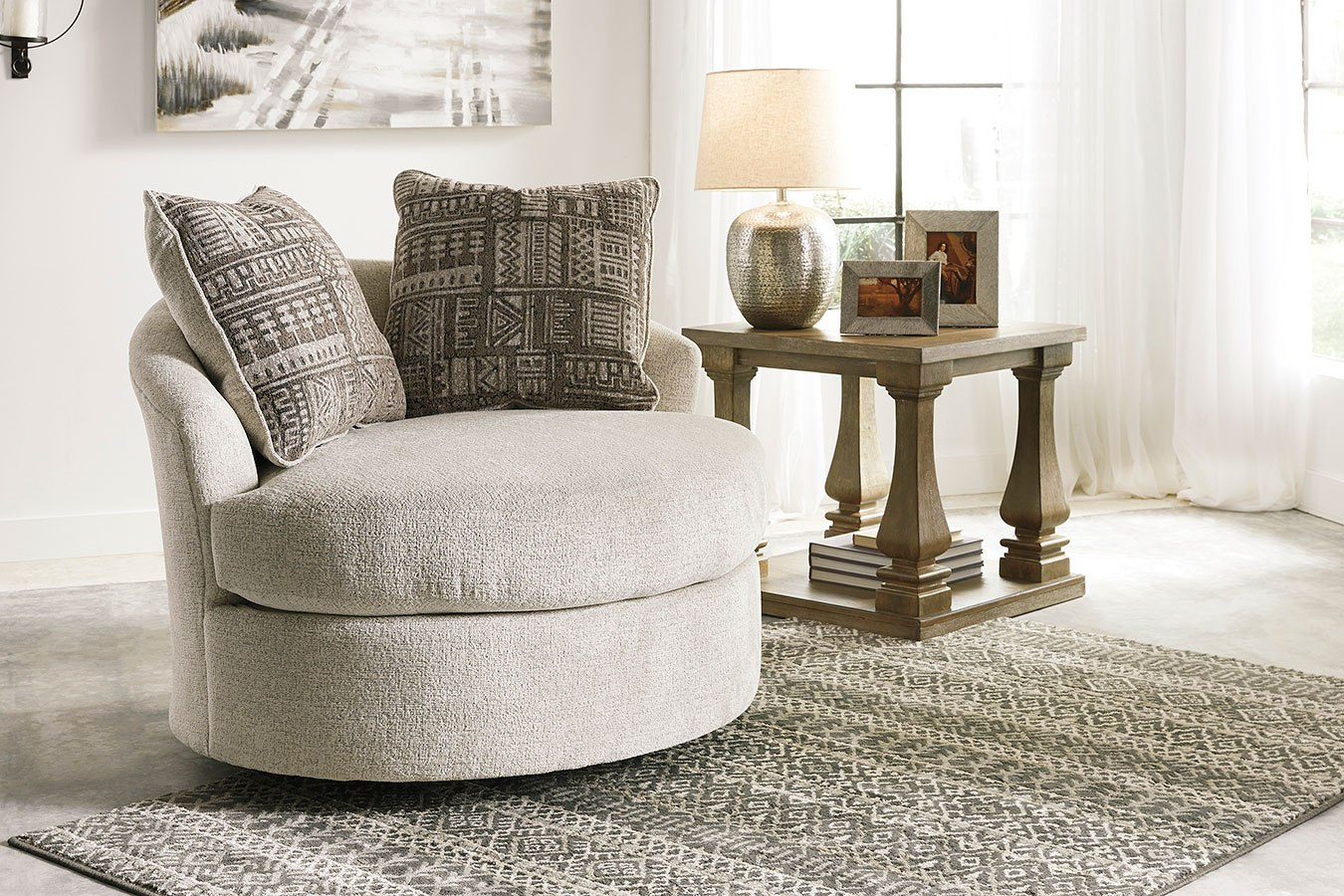 Soletren Stone Living Room Set By Signature Design By Ashley