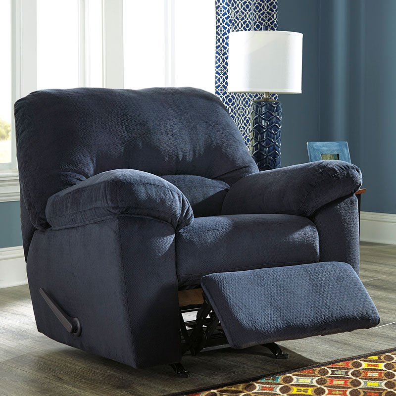 Dailey Midnight Rocker Recliner By Signature Design By
