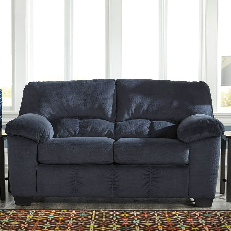 Dailey Midnight Loveseat By Signature Design By Ashley
