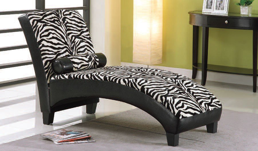 anna lounge chaise zebra chaises living room furniture living room. Black Bedroom Furniture Sets. Home Design Ideas