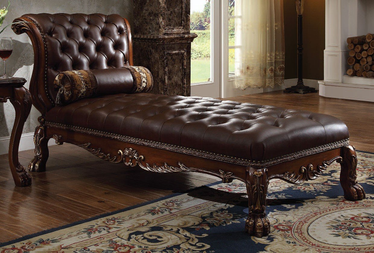 Dresden Chaise Cherry Chaises Living Room Furniture Living Room
