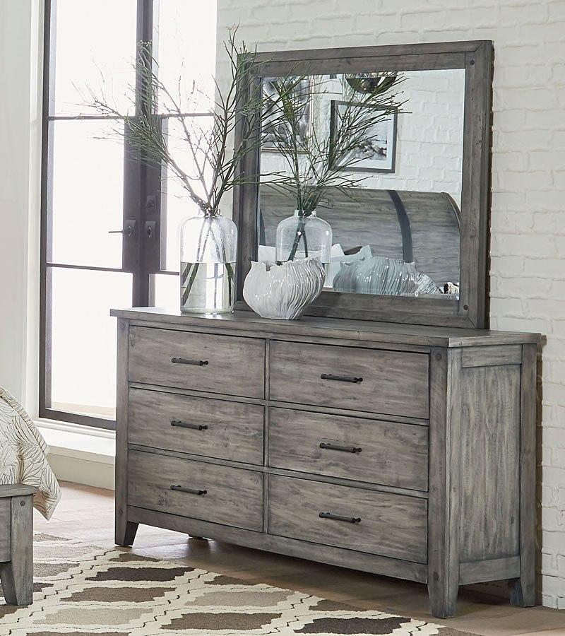 Nelson Dresser Grey By Standard