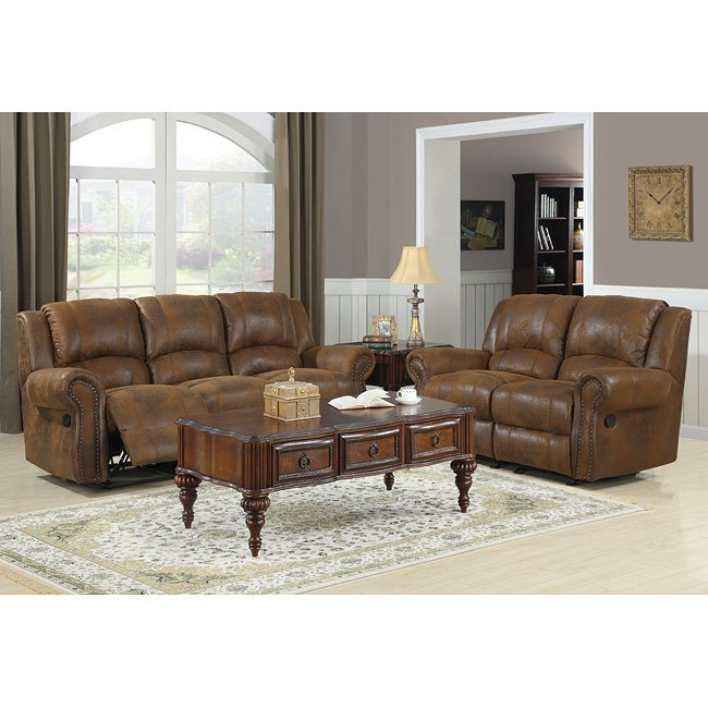 Quinn reclining living room set bomber jacket microfiber - Microfiber living room furniture sets ...