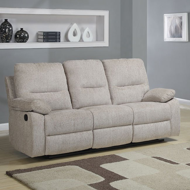 Marianna Double Reclining Sofa W Drop Down Table By Homelegance
