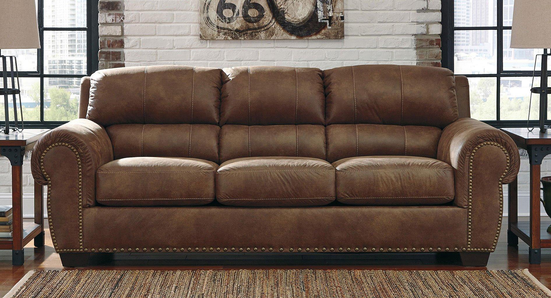 Burnsville Espresso Sofa Sofas Living Room Furniture Living Room