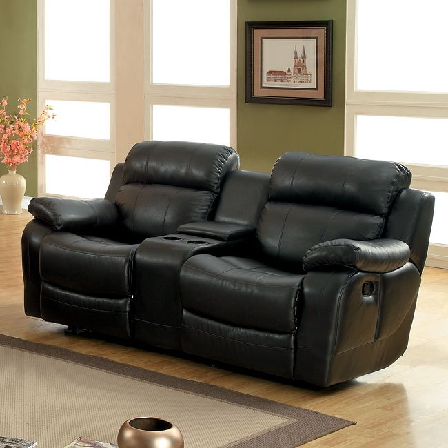 Awe Inspiring Marille Double Reclining Loveseat Black Beutiful Home Inspiration Cosmmahrainfo