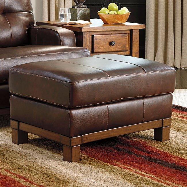 mclarion walnut living room set by signature design by. Black Bedroom Furniture Sets. Home Design Ideas