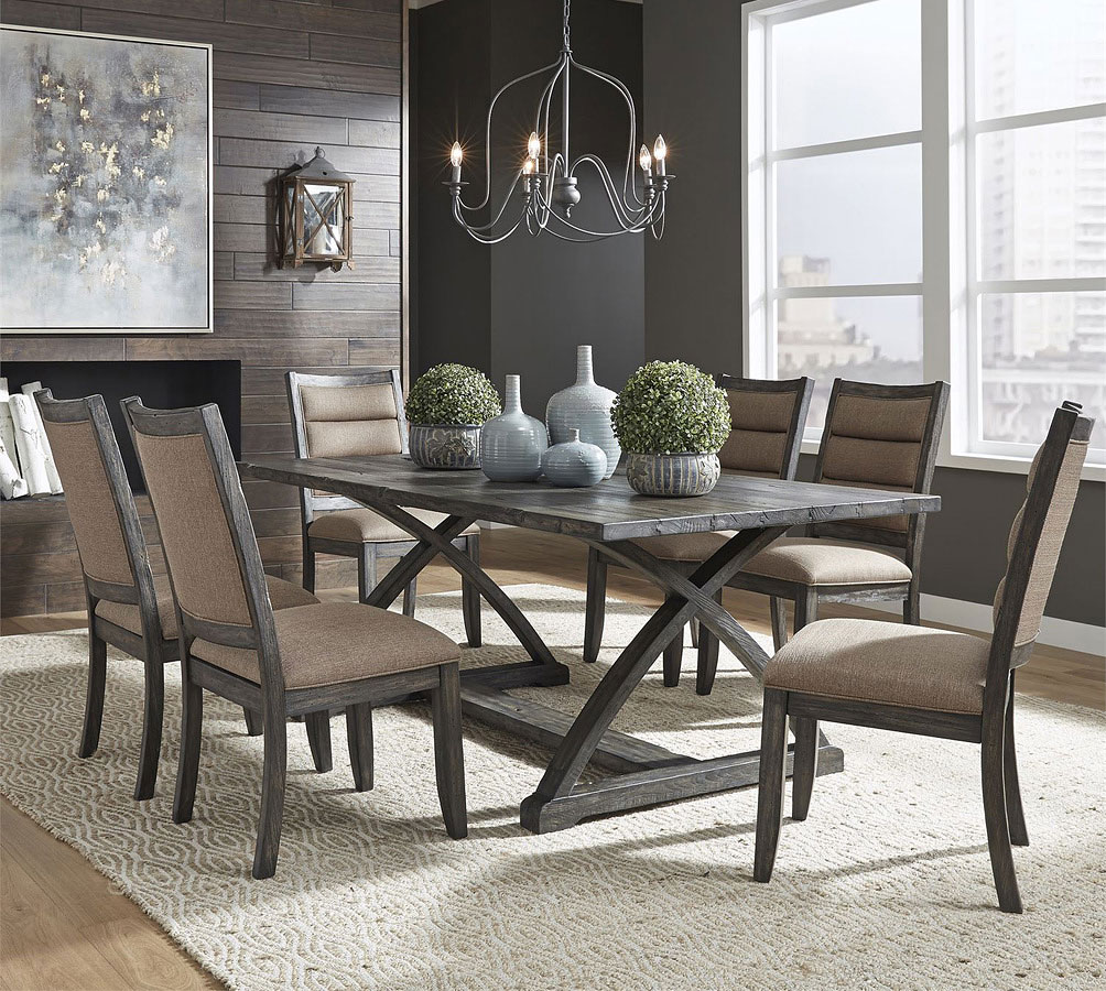 Rectangular Dinette Sets: Highland Creek Rectangular Dining Room Set By Liberty