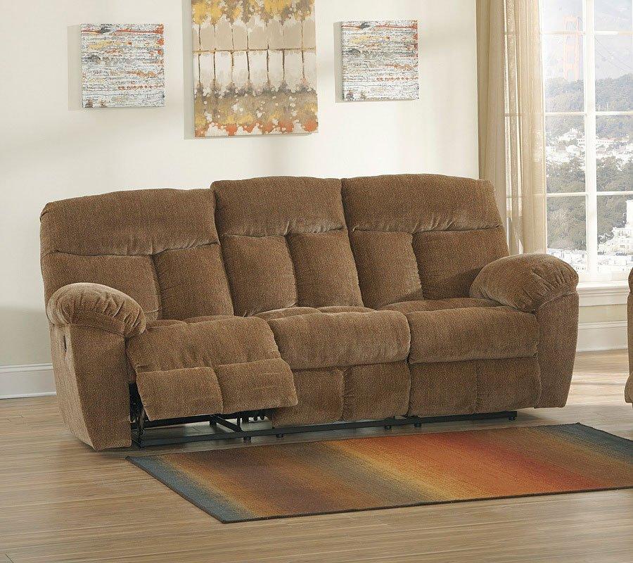 Amazing Hector Caramel Reclining Sofa Beatyapartments Chair Design Images Beatyapartmentscom