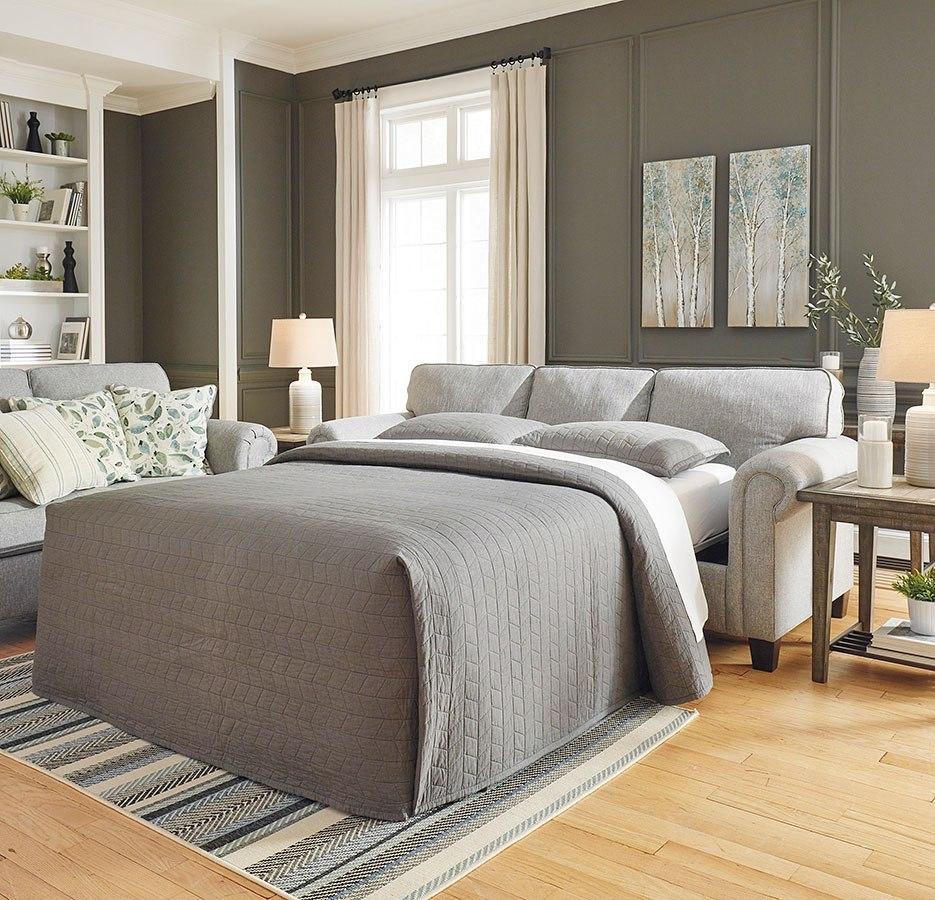 Alandari Gray Queen Sofa Sleeper By Signature Design By