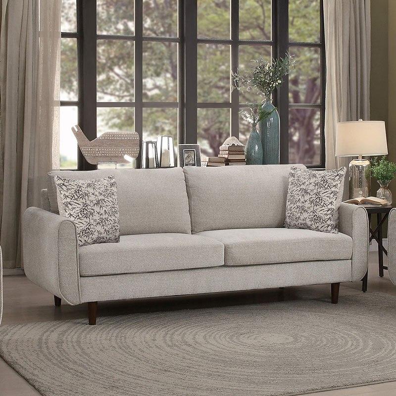 Living Room Made Of Sand: Wrasse Living Room Set (Sand) By Homelegance