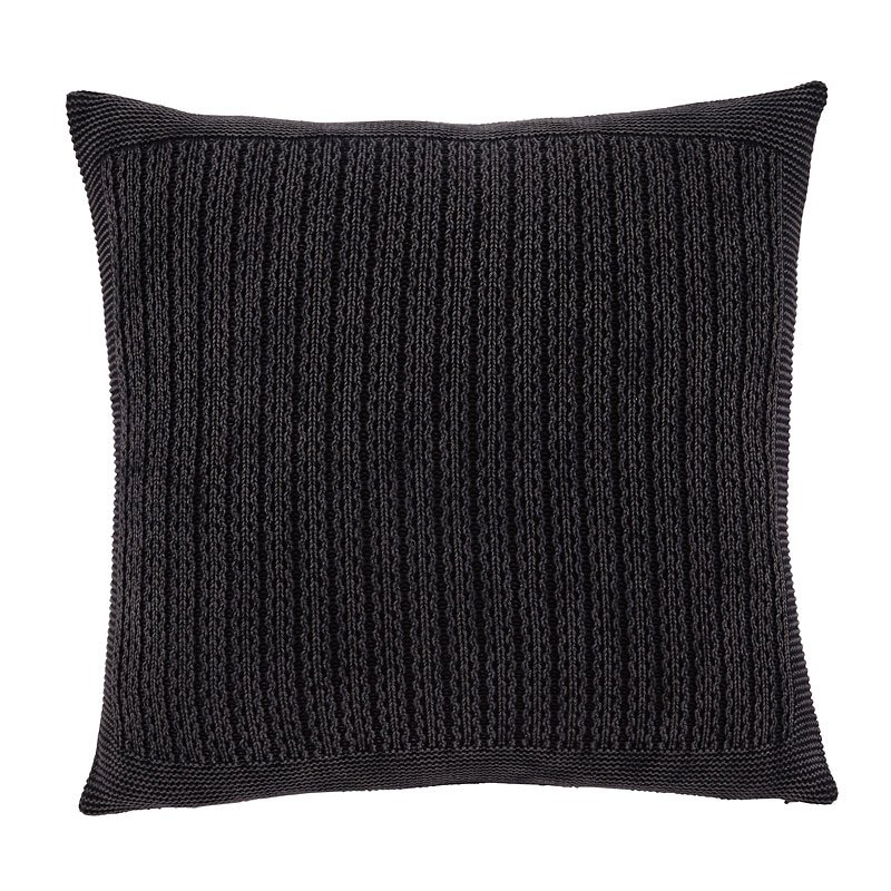Wilsonburg Pillow Cover (Charcoal) (Set Of 4) By Signature