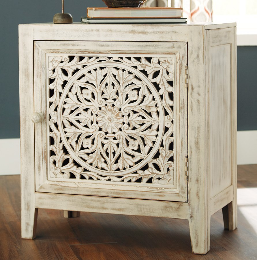 Fossil Ridge Accent Cabinet By Signature Design By Ashley