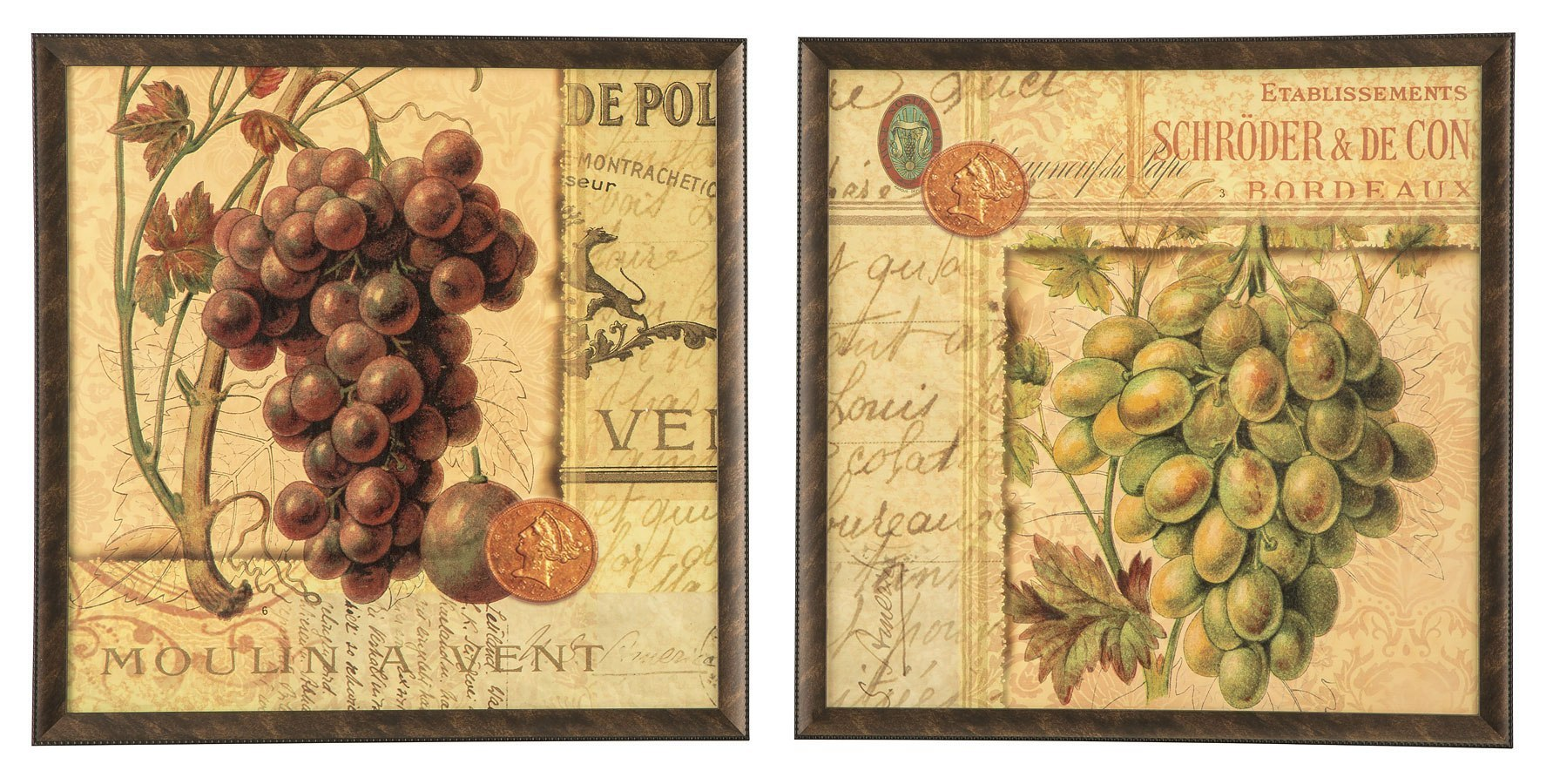 Ohini Wall Art (Set of 2) - Wall Art - Accent Furniture and Home ...