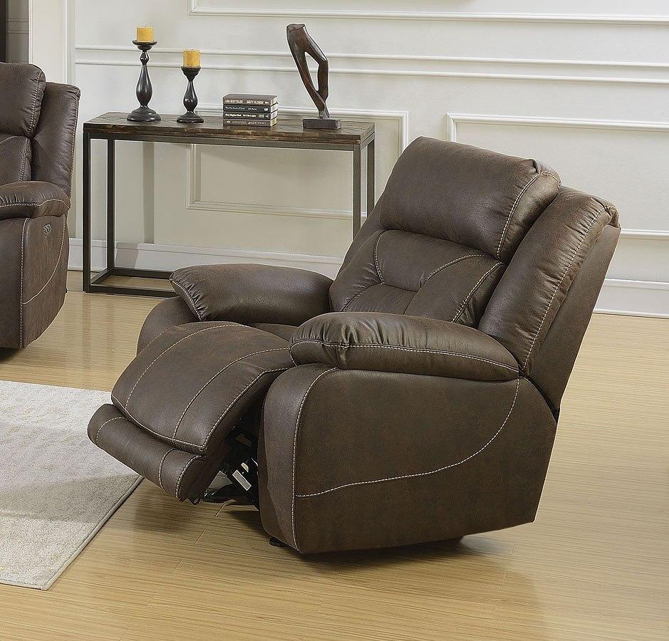 Superb Aria Power Glider Recliner Saddle Brown Alphanode Cool Chair Designs And Ideas Alphanodeonline