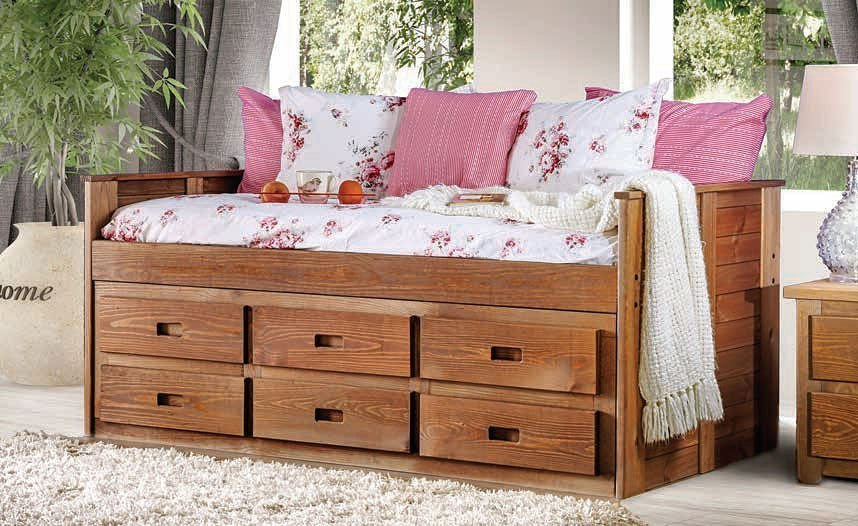 Lia Twin Captain Bedroom Set By Furniture Of America