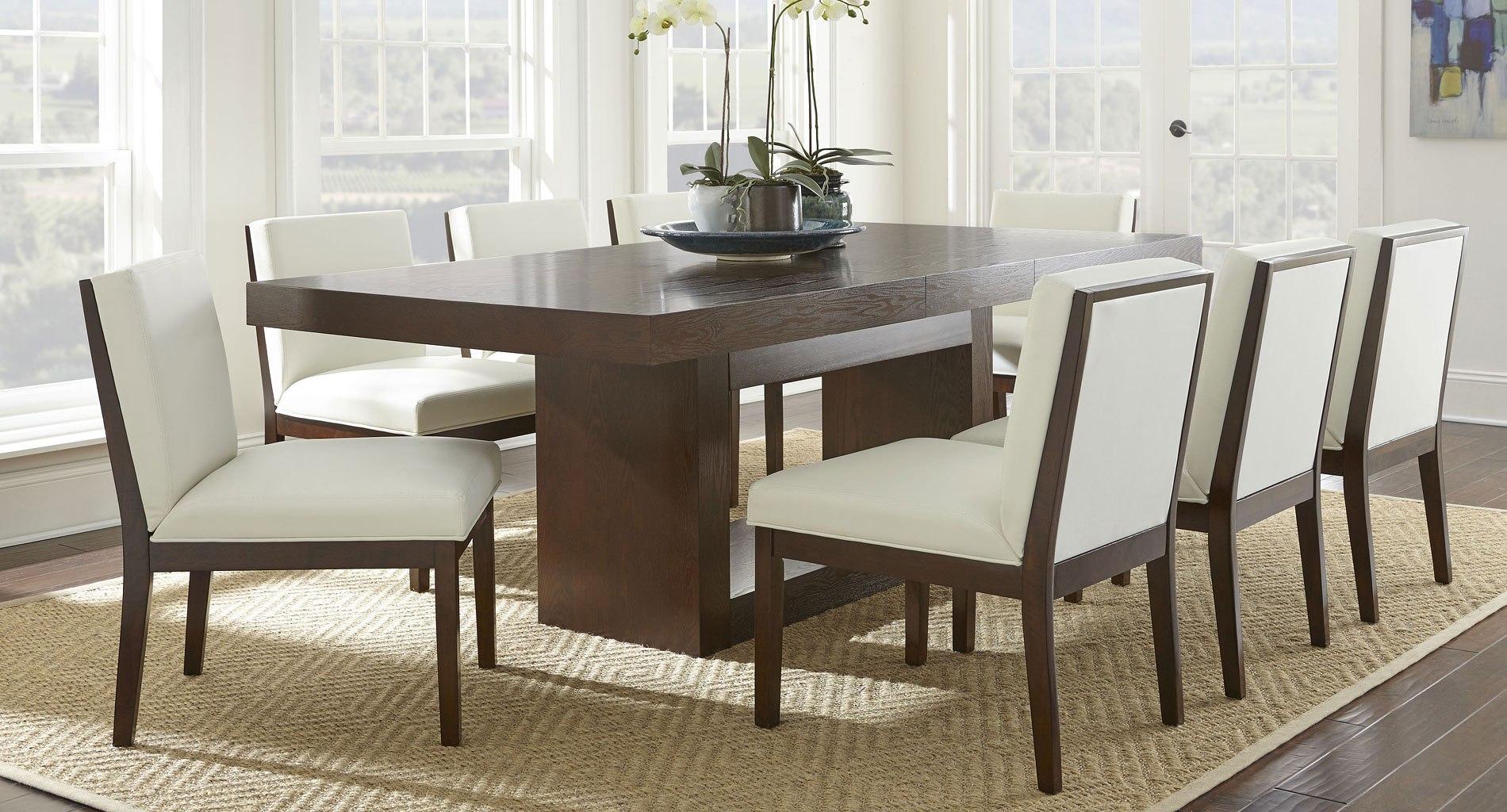 antonio dining room set w emma white chairs by steve silver rh furniturepick com Room Emma Donoghue Emma and Ellie's Room