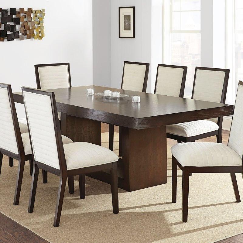 Dining Room Tables San Antonio: Antonio Dining Room Set W/ Gray Chairs By Steve Silver