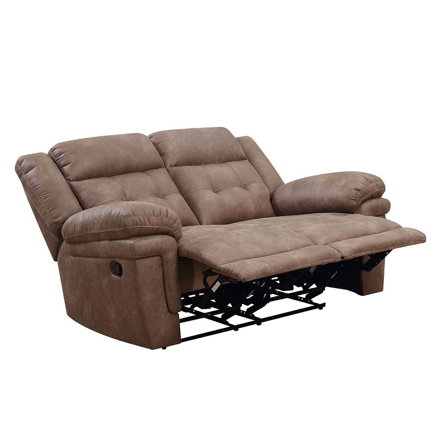Anastasia Reclining Loveseat Cocoa By Steve Silver
