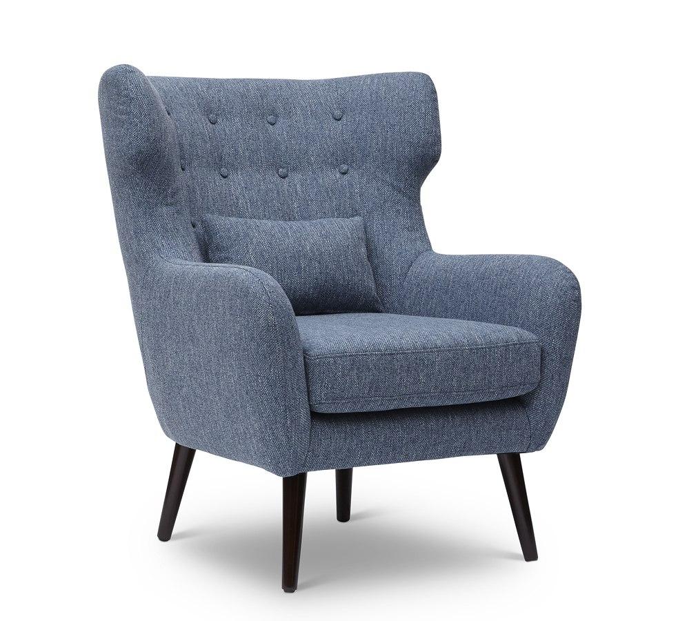 Ava Accent Chair Blue By Jofran Furniture Furniturepick