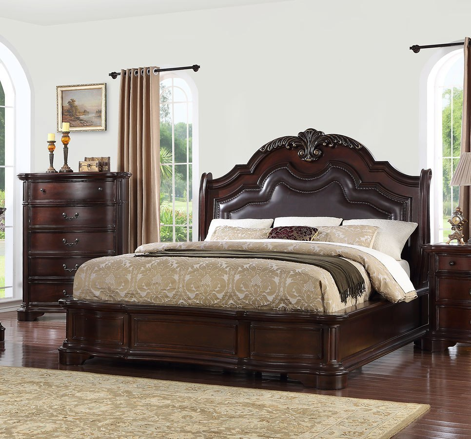 St Louis Upholstered Bed