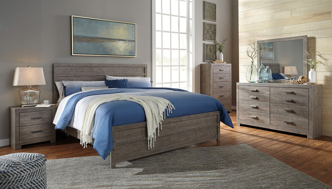 Culverbach panel bedroom set by signature design by ashley - Ashley bedroom furniture reviews ...
