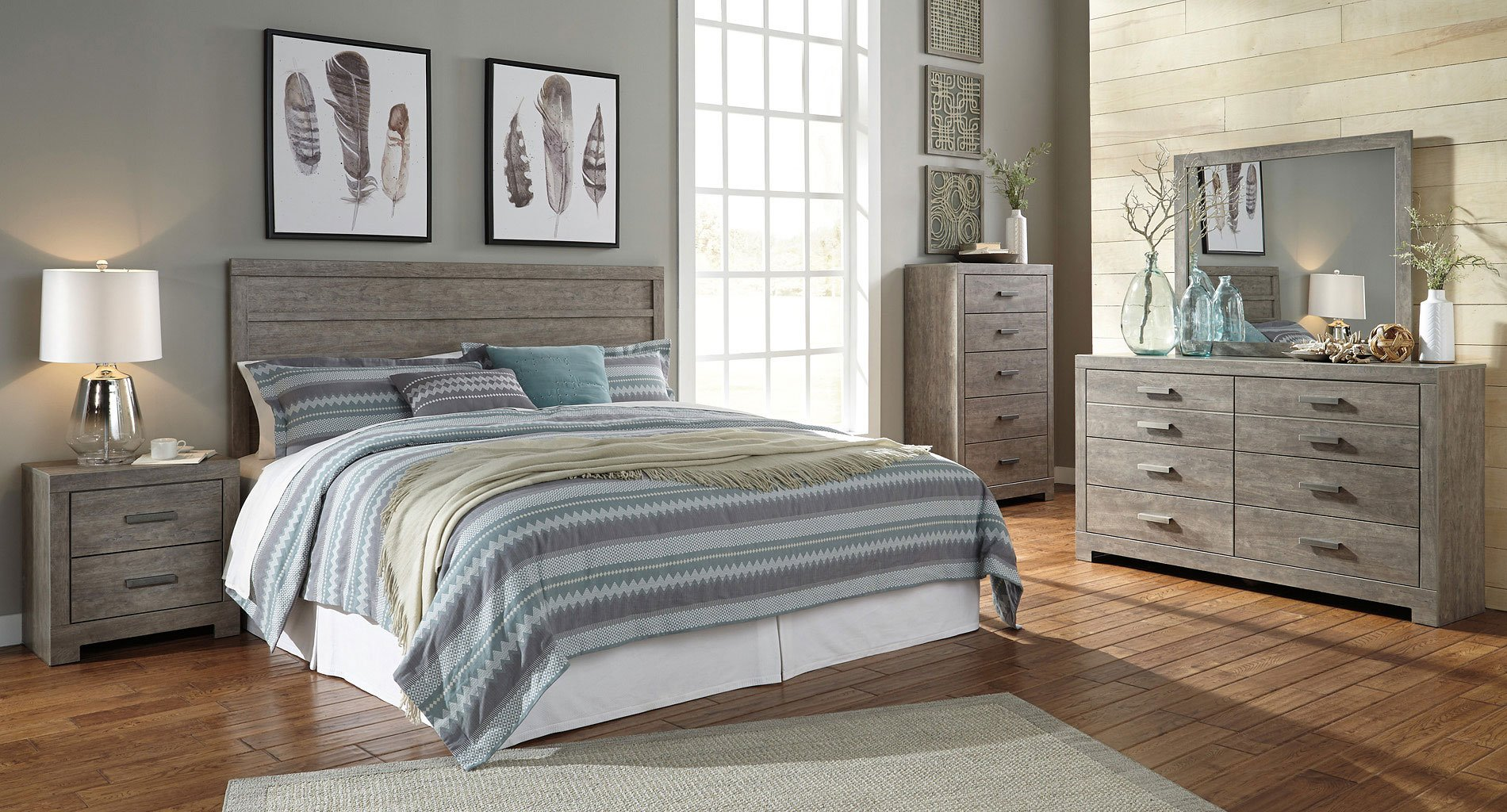culverbach headboard bedroom set by signature design by ashley 1 reviews furniturepick