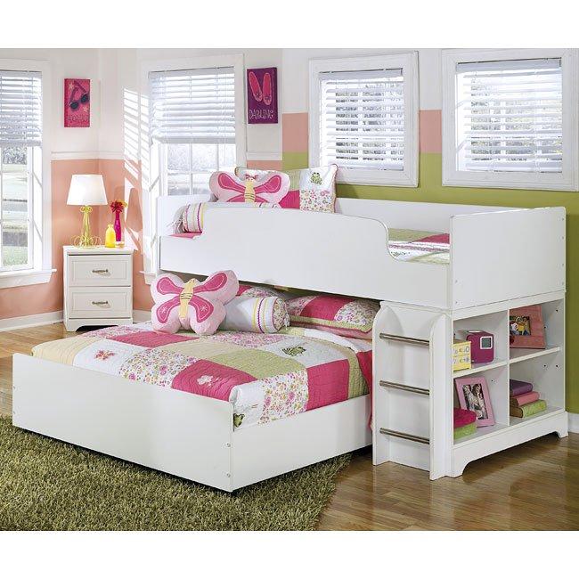 Genial Lulu Twin Over Full Loft Bed