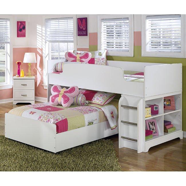 Lulu Twin Over Twin Loft Bed