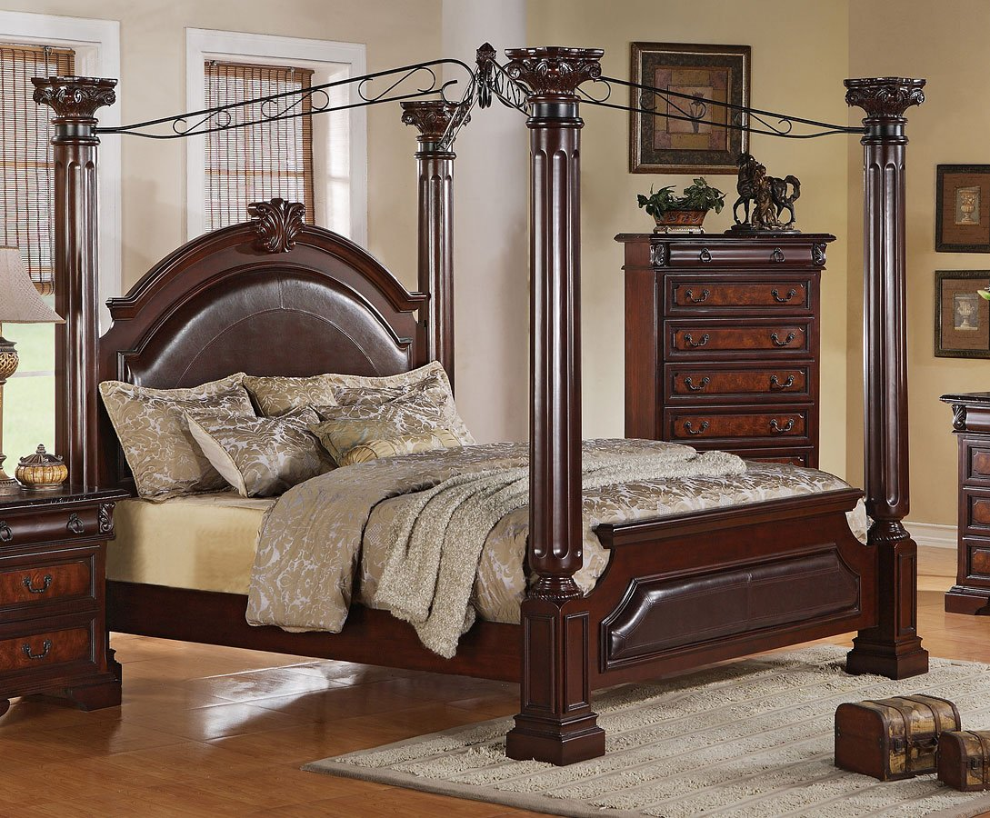 Neo Renaissance Canopy Bed Beds Bedroom Furniture Bedroom