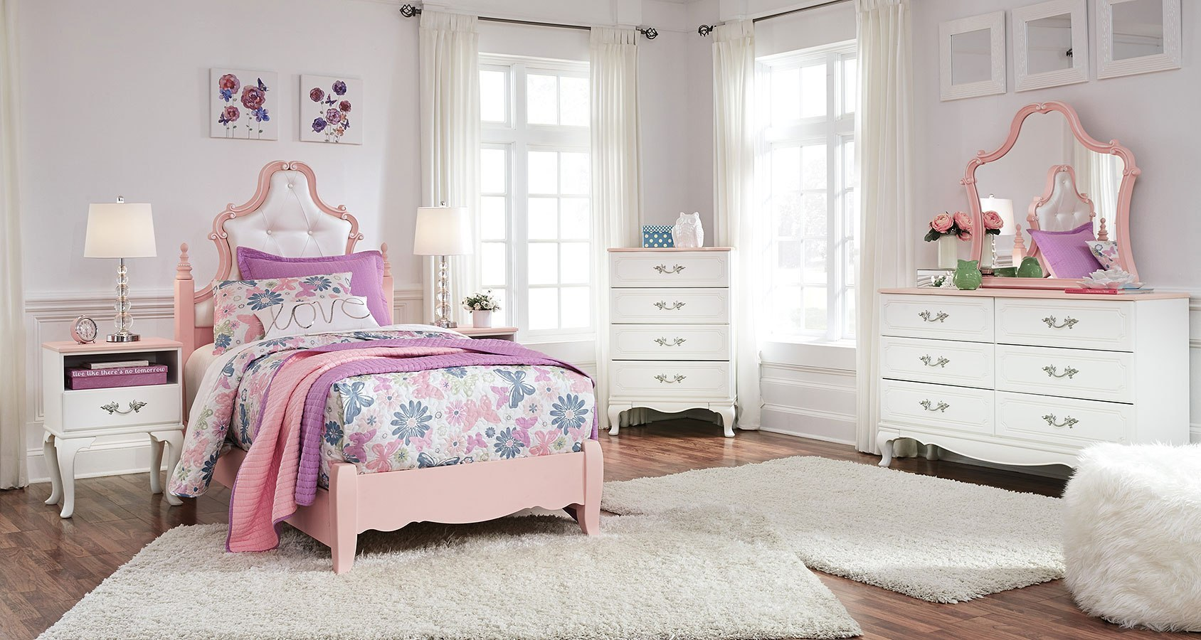 Ordinaire Laddi Youth Poster Bedroom Set