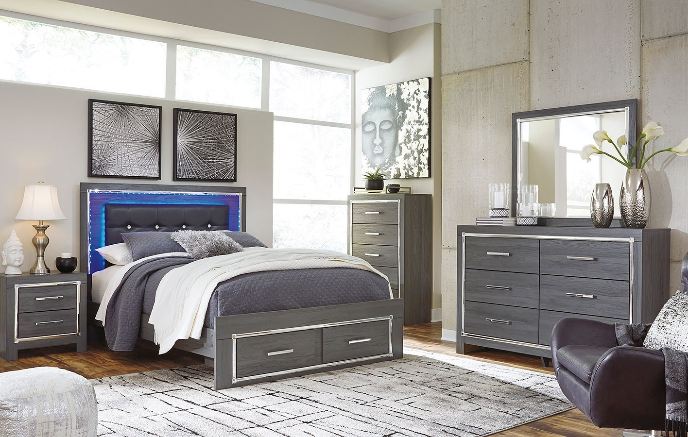 Lodanna Storage Bedroom Set by Signature Design by Ashley ...