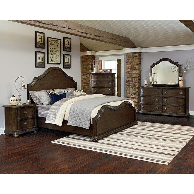 Muirfield Panel Bedroom Set