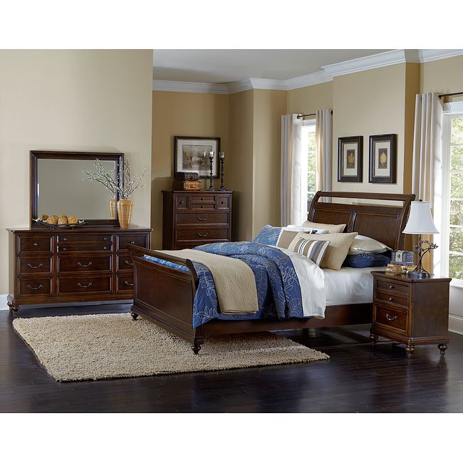 Ashley Furniture Lafayette: Lafayette Sleigh Bedroom Set By Magnussen
