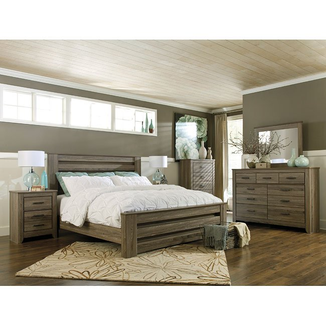 Zelen panel bedroom set by signature design by ashley 5 - Ashley furniture pheasant run bedroom set ...