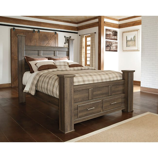 Juararo Poster Storage Bedroom Set By Signature Design By