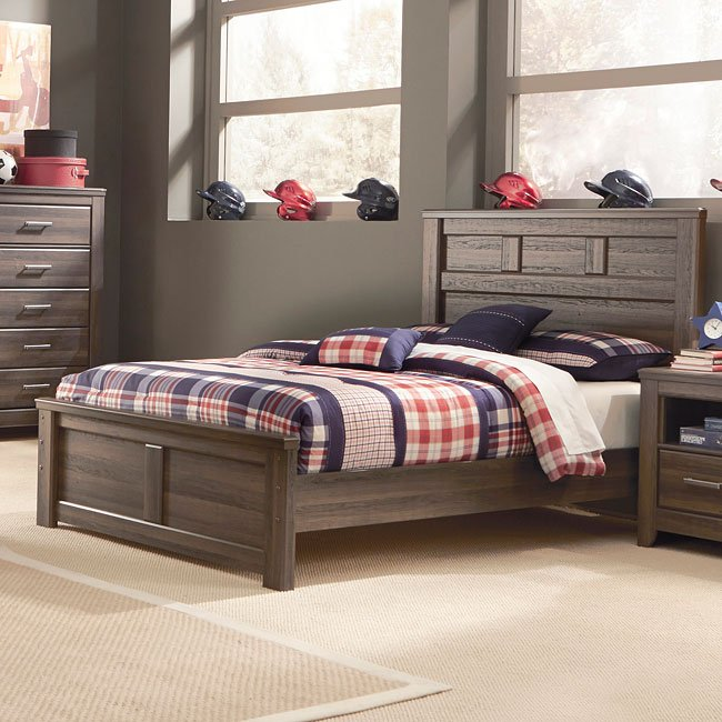 Juararo youth panel bed by signature design by ashley - Ashley wilkes bedroom collection ...