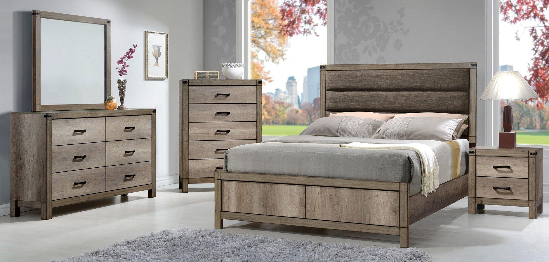 Matteo panel bedroom set bedroom sets bedroom for Bedroom furniture sets b q