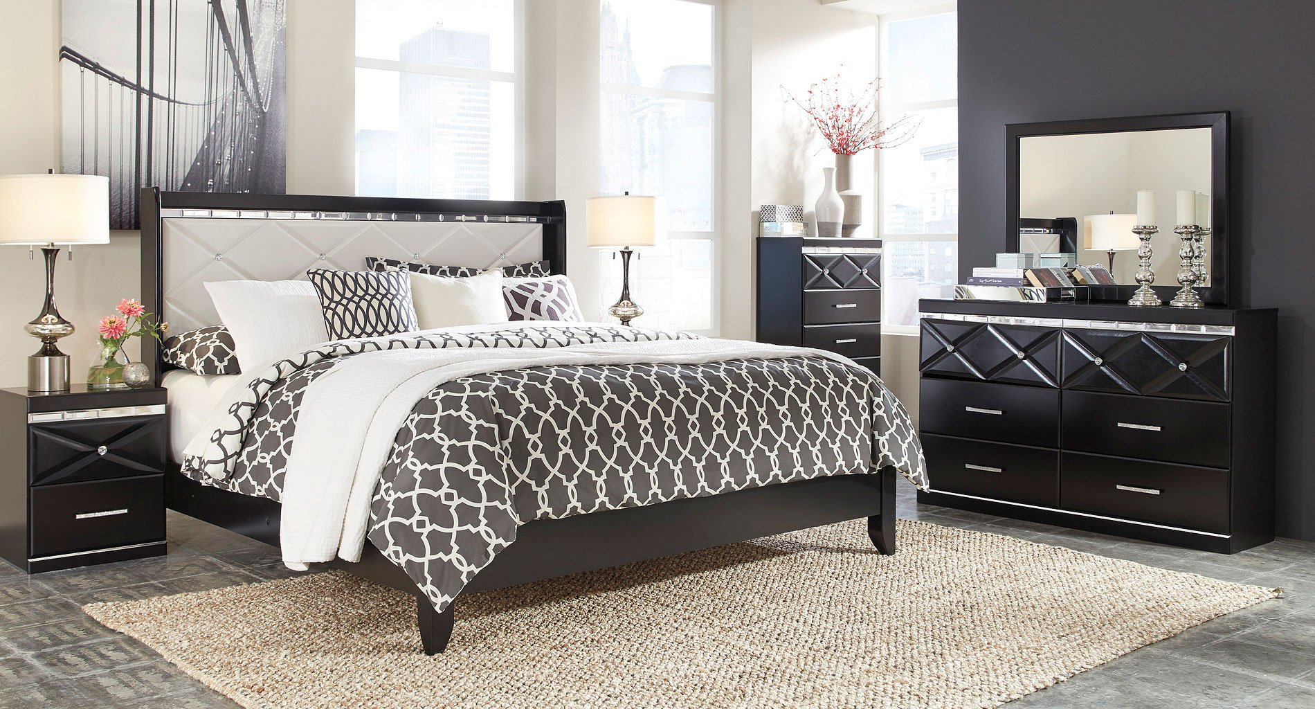 Fancee Panel Bedroom Set By Signature Design By Ashley