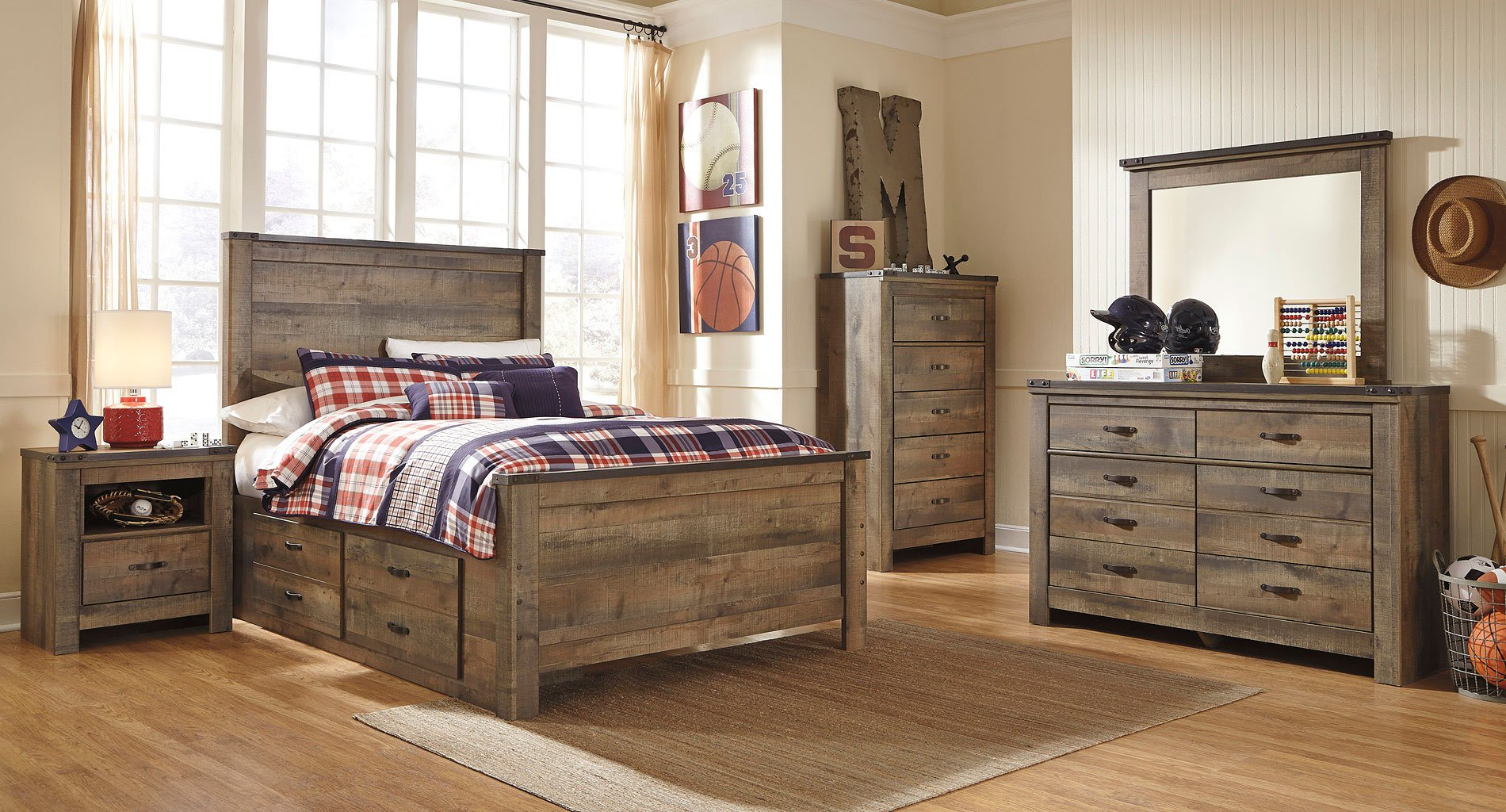 Trinell youth storage bedroom set by signature design by - Youth bedroom furniture with storage ...